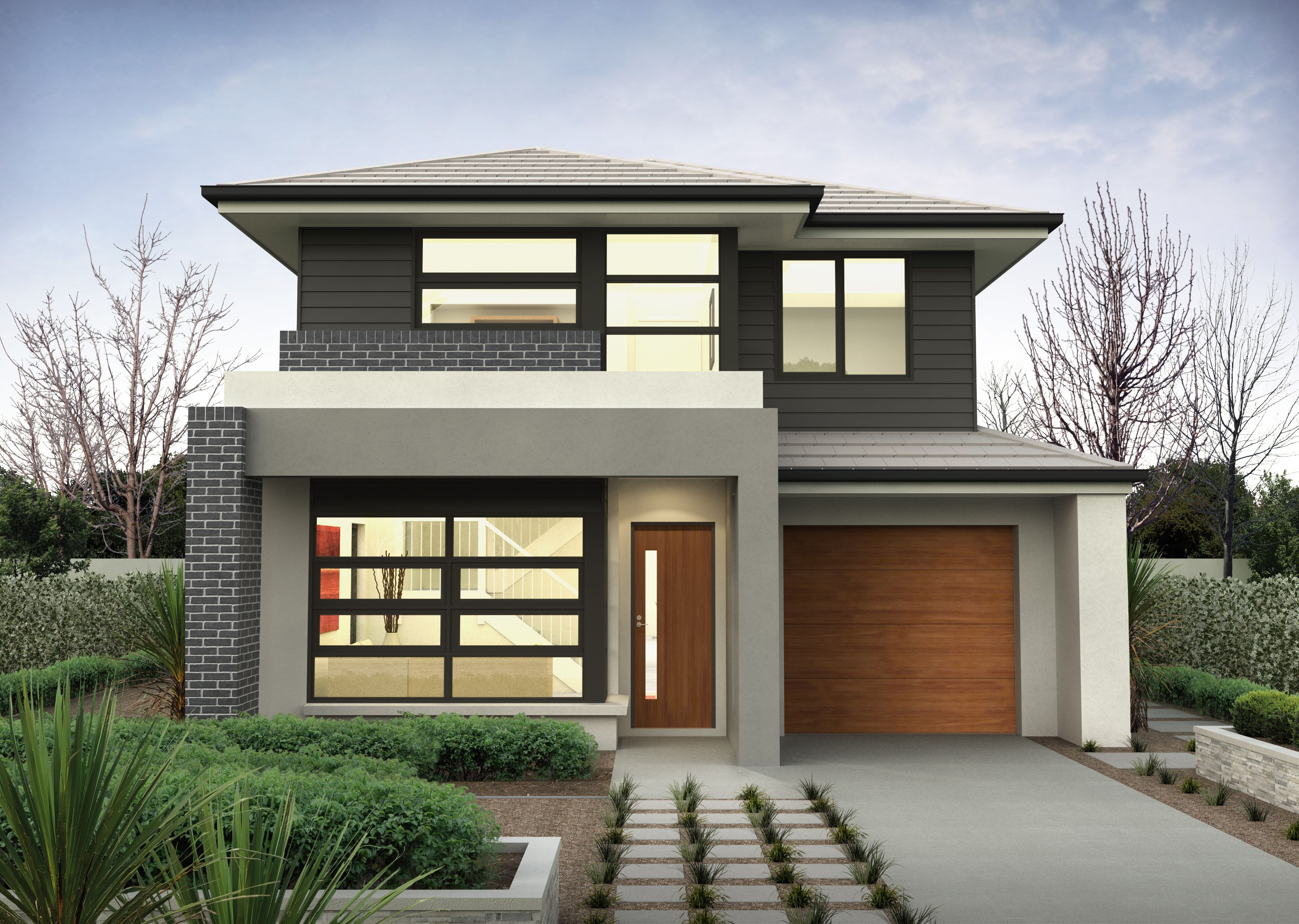 10m wide house plans Google Search Casas pintadas
