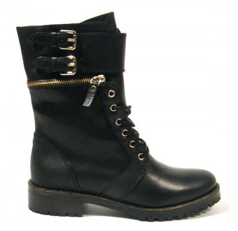 Mujer Militares Con Alpe ActiveZapatos Shoes Cordones Botas Para 34jARL5
