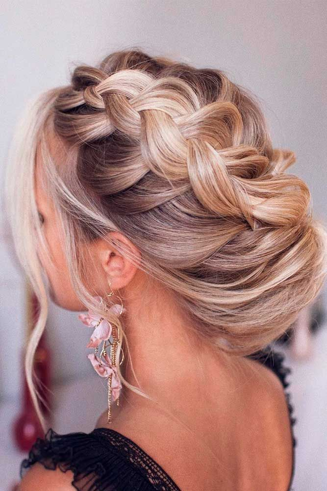 40 Dreamy Homecoming Hairstyles Fit For A Queen Braided Hairstyles For Wedding Medium Hair Styles Wedding Hairstyles For Medium Hair