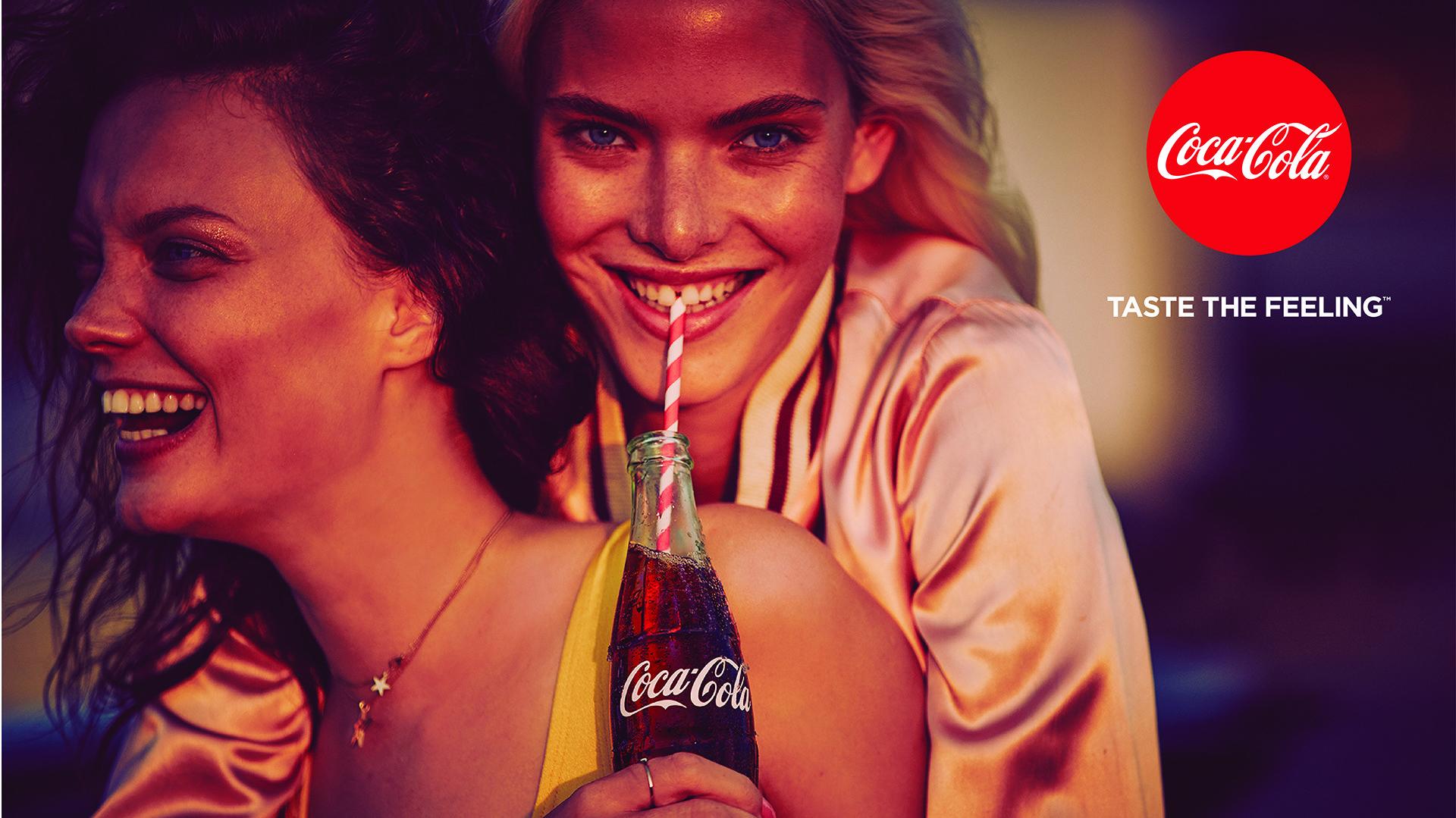 Publicidad Coca Cola Siente El Sabor Pin En Coca Cola Siempre