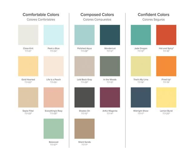 Perfect Color Combinations behr paint's picture perfect color currents for 2017: behr paint's