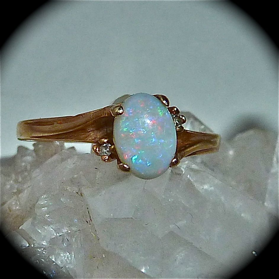 Pin By Sharlotte Sometimes Aka Jacq On Opulent Opal And Moonstone Rings Along With Other Ethereal Looking Labradorite Abalone Amethyst And Sapphire E T C Ones My Top Fave Yellow Gold Opal Ring