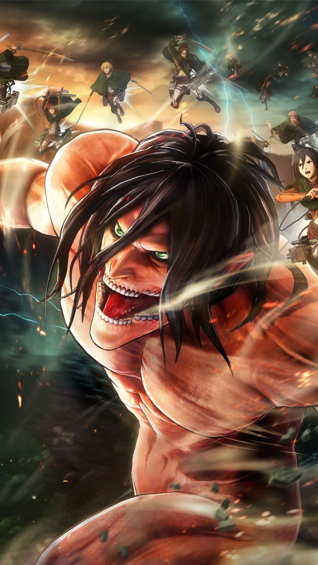 Pin on attack on titan Anime