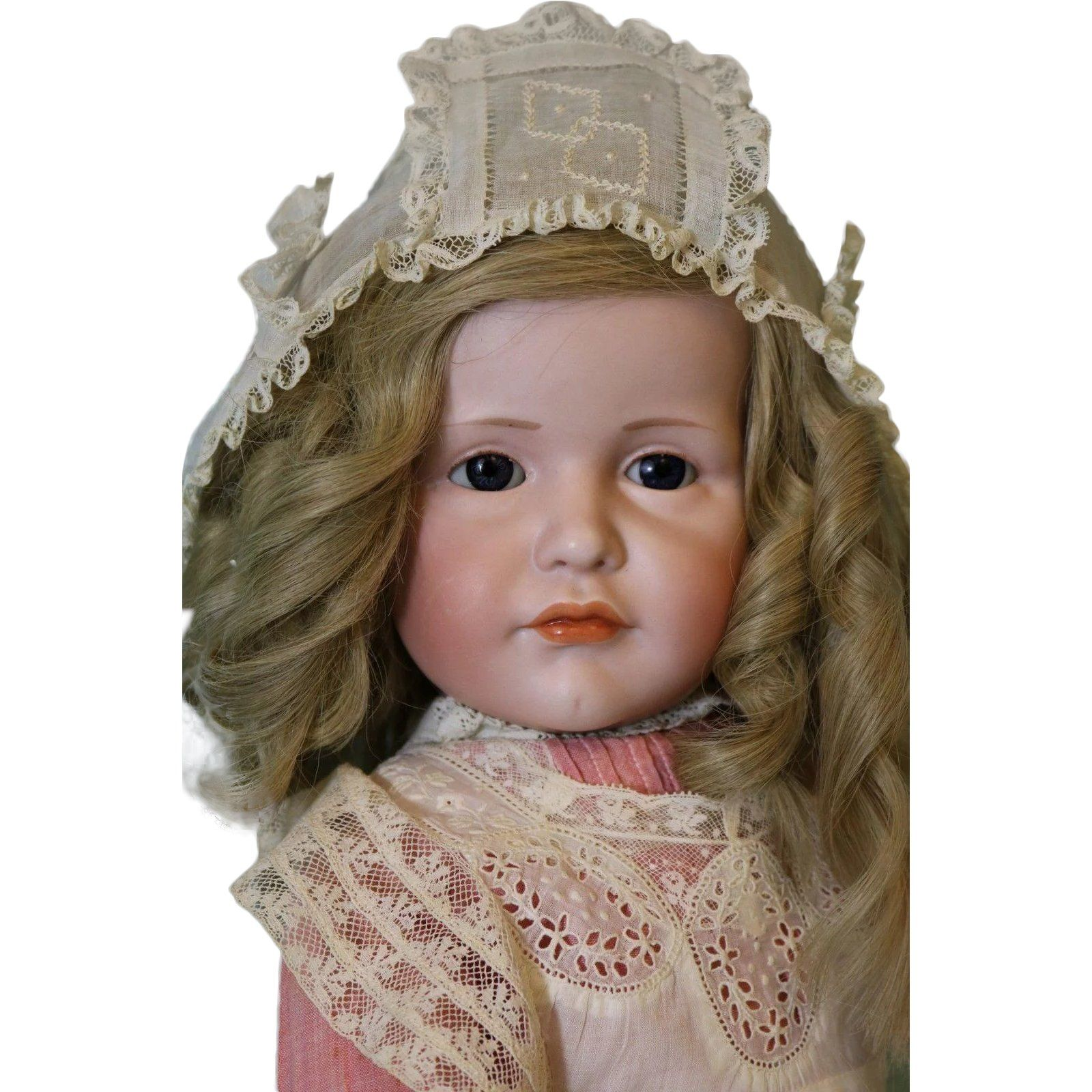 Antique 23 Kammer And Reinhardt 114 Gretchen Glass Eyes Character Doll Superb This Item Is 30 Off During The Ruby Red Tag Antiques Tag Sale Gorgeous Glass