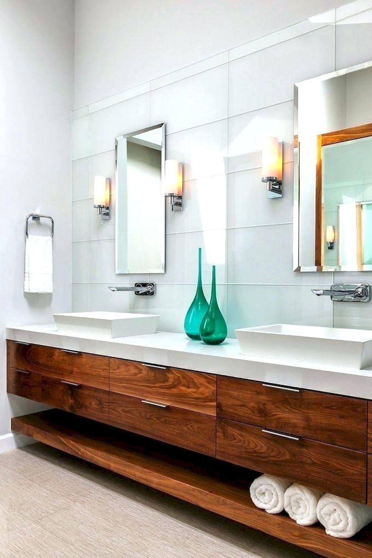 70 Modern Bathroom Cabinets Ideas Decorations And Remodel (19)