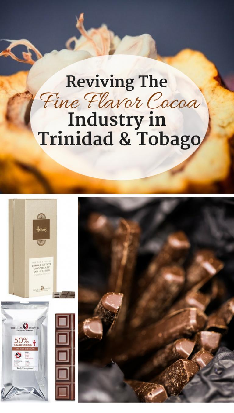 Reviving The Fine Flavor Cocoa Industry in Trinidad & Tobago