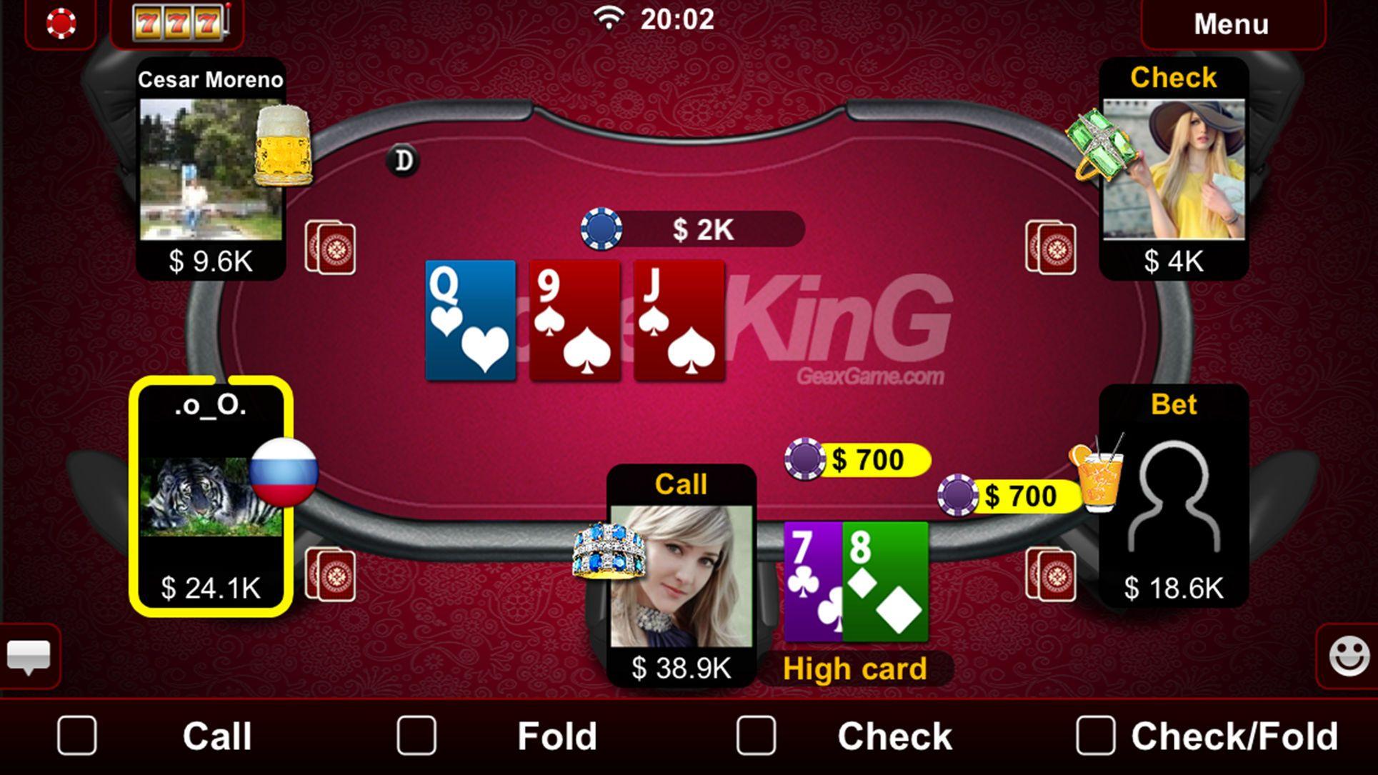 Live holdem poker casinocardiossports poker cards app
