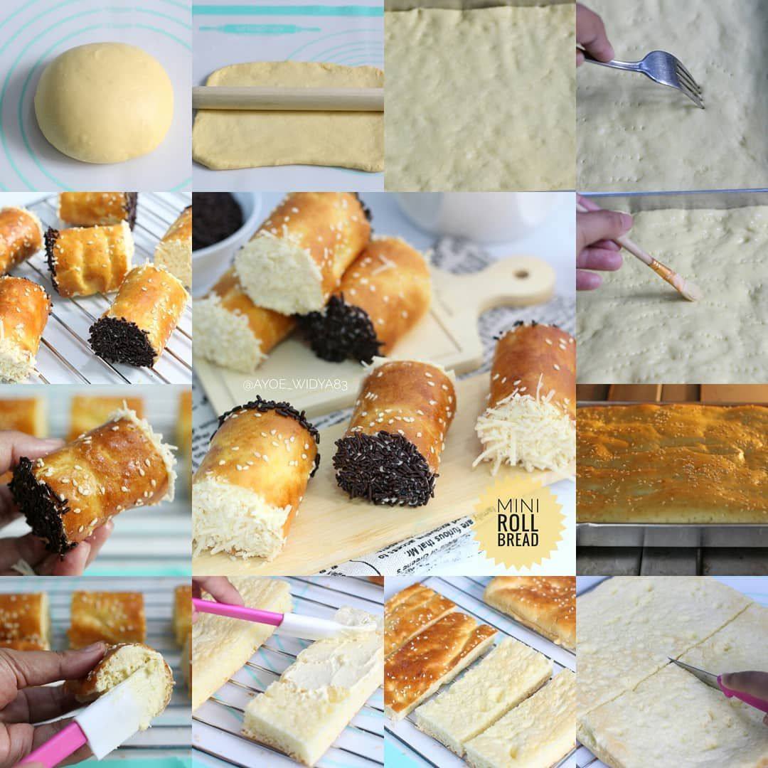 Mini Roll Sweet Bread Kapan Hari Dapet Snack Arisan Isinya Roti Roll Mini Aku Pikir Lucu Juga Ya Ini Rotiny Makanan Pendamping Makanan Ringan Manis Roti