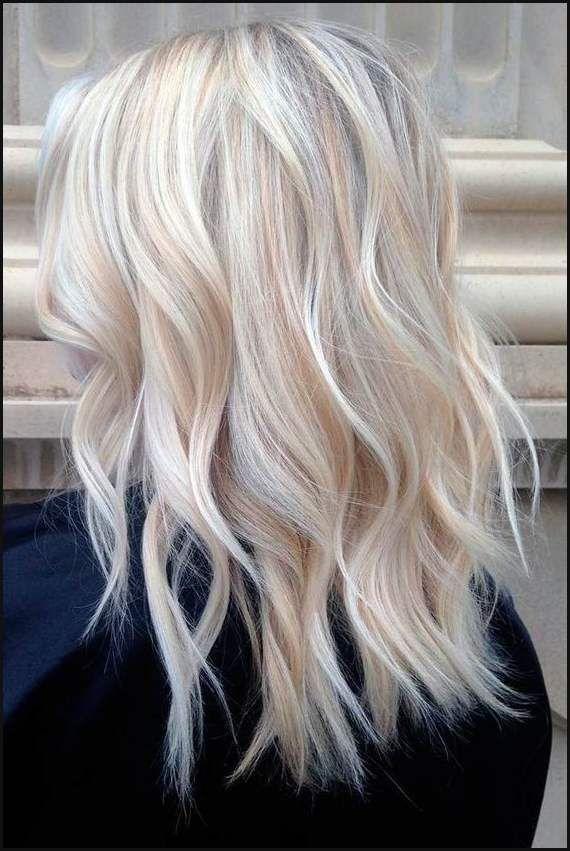 Schone Frisuren Fur Mittellange Blonde Haare Hairstyle