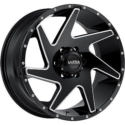 18x9 Black Milled Ultra Vortex 206 Wheels 5x5 5 12 Lifted Fits Dodge 1500 Ultra Wheels Vortex Wheel