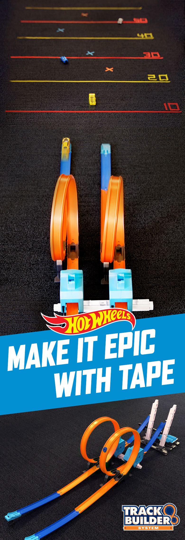 hot wheels track builder stunt kit instructions