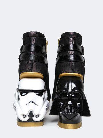 Irregular Choice The Death Star Black White | ZOOJI