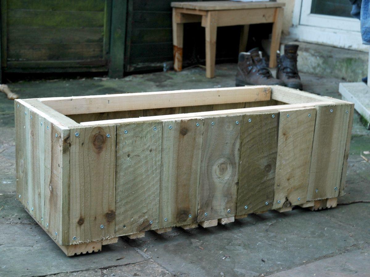 scrap wood planter - Wood Planters