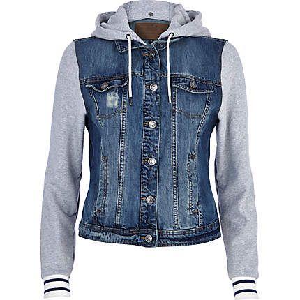 jacketers.com womens denim jacket (03) #womensjackets | All Things ...