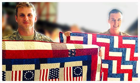 """A """"Quilt of Valor"""" Home Coming celebration for 21 returning ... : quilts for soldiers - Adamdwight.com"""
