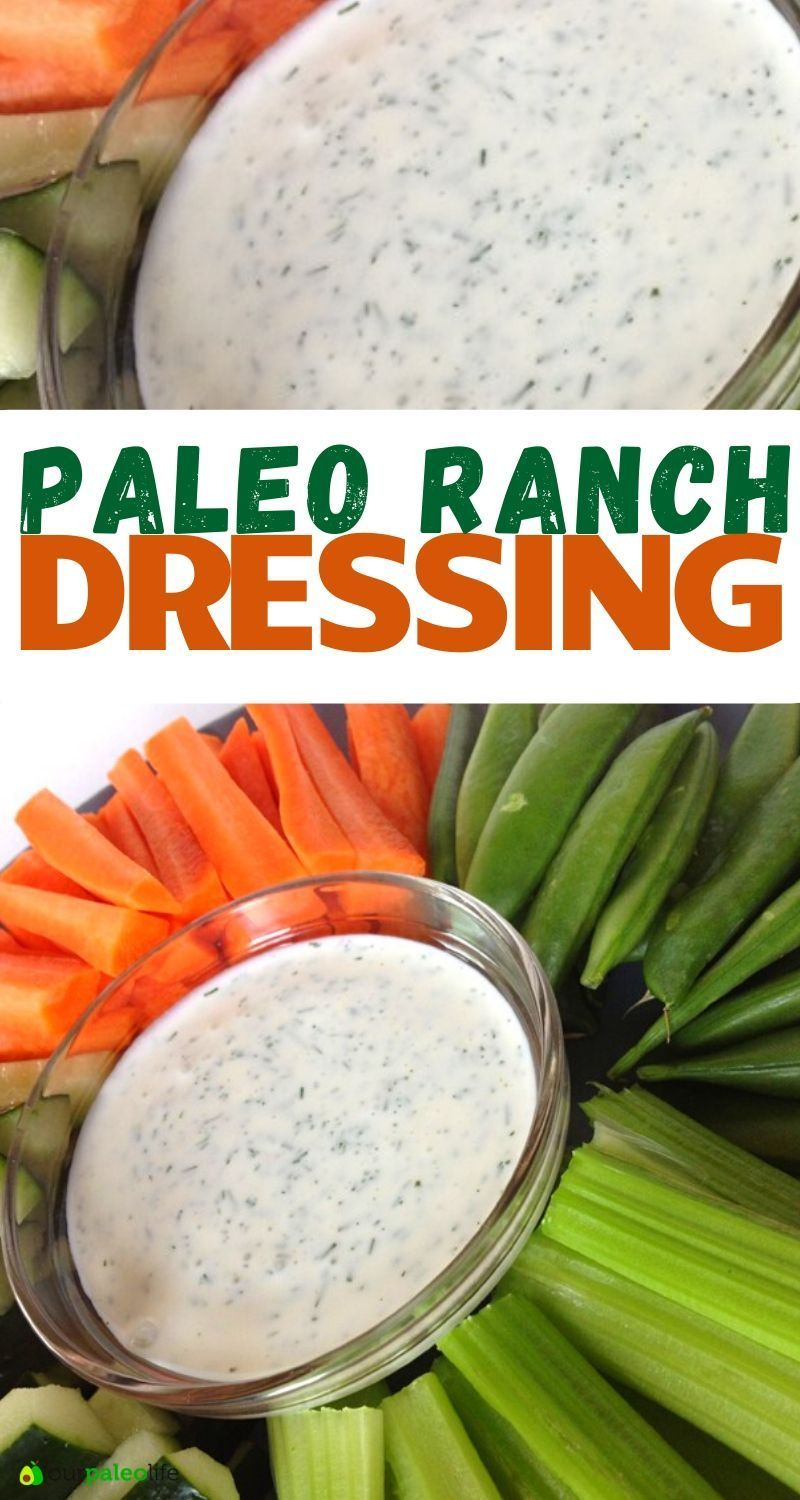 Our Paleo Life | Keto, Paleo, Whole30 Recipes and Meal Plans This ranch homemade Dressing ingredien