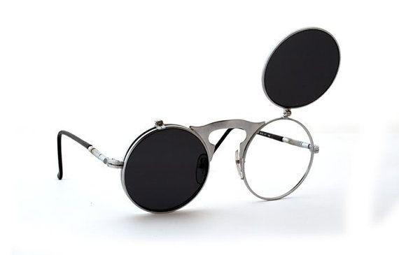 b0d017e224a Hi Tek Alexander round metal flip up sunglasses model Hi Tek HT-006 ...