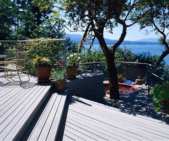 terrasse garten probleme und lösungen schwimmbecken Garden - bankirai terrasse verlegen vorteile