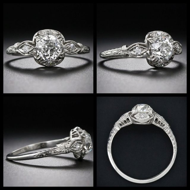 The engagement ring i would LOVE to have from all angles.