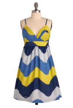 Seismic Style Dress - M
