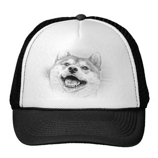 Smiling Shiba Inu dog Trucker Hat