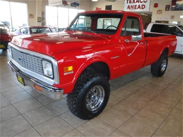 1972 chevrolet k10 nice things with 4 wheels pinterest