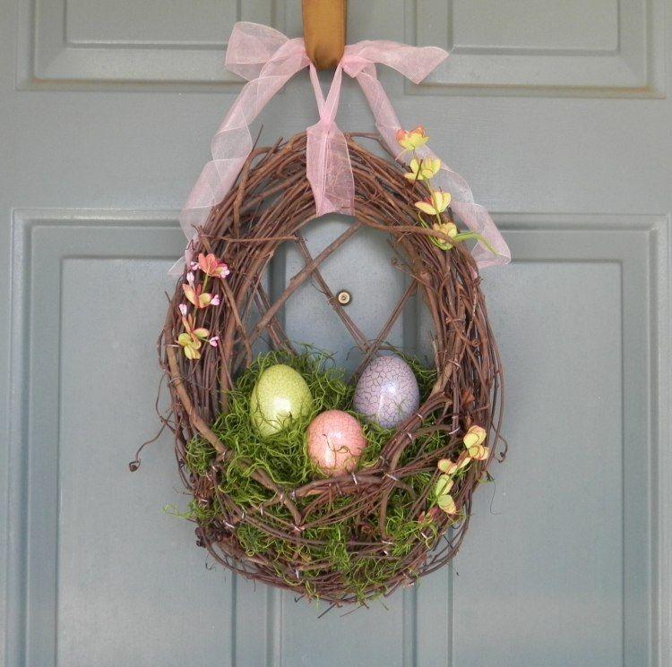 Décoration extérieure pour Pâques u2013 idées terrasse et porche Easter