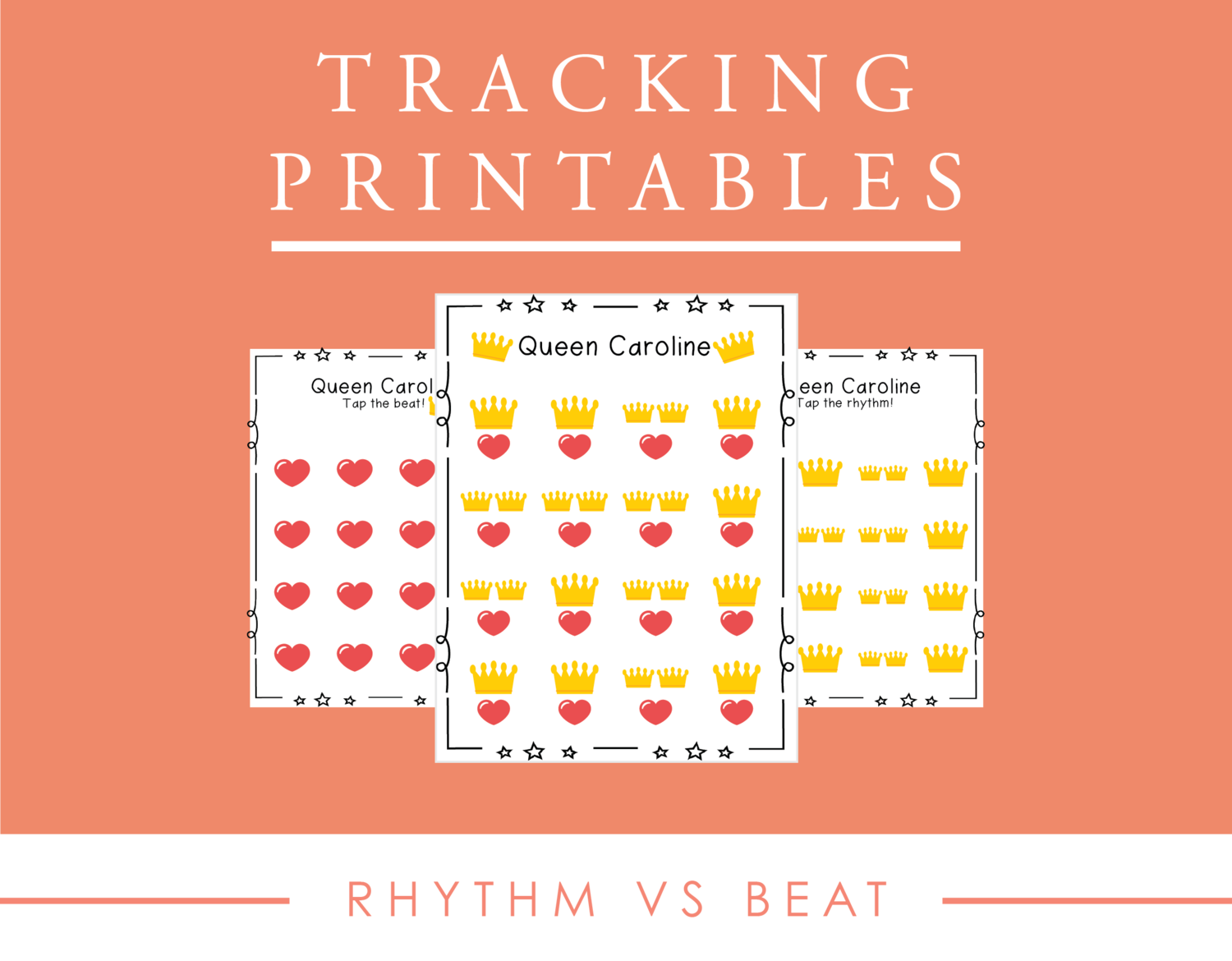 Tracking Printables For For Rhythm Versus Beat In