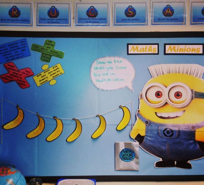 Classroom Ideas Year 7 ~ Minion classroom theme welcome to our year