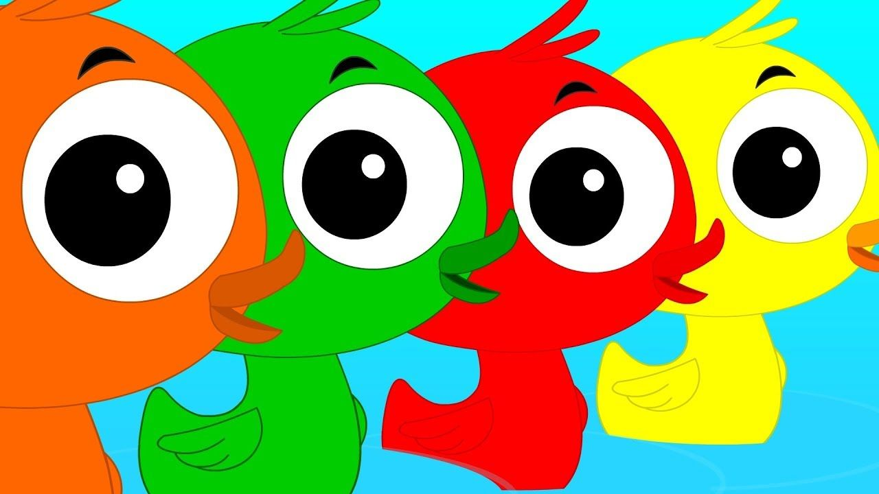 Learn Colors   Learning Color With Ducks   Preschool Videos For Kids ...