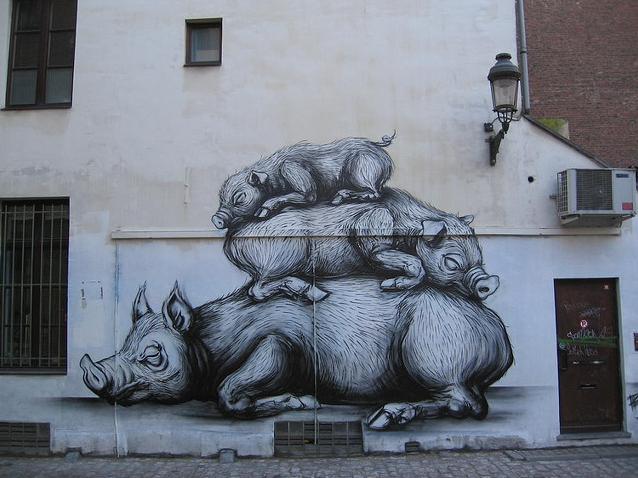 Introducing Roa Street Art Abduzeedo Design Inspiration