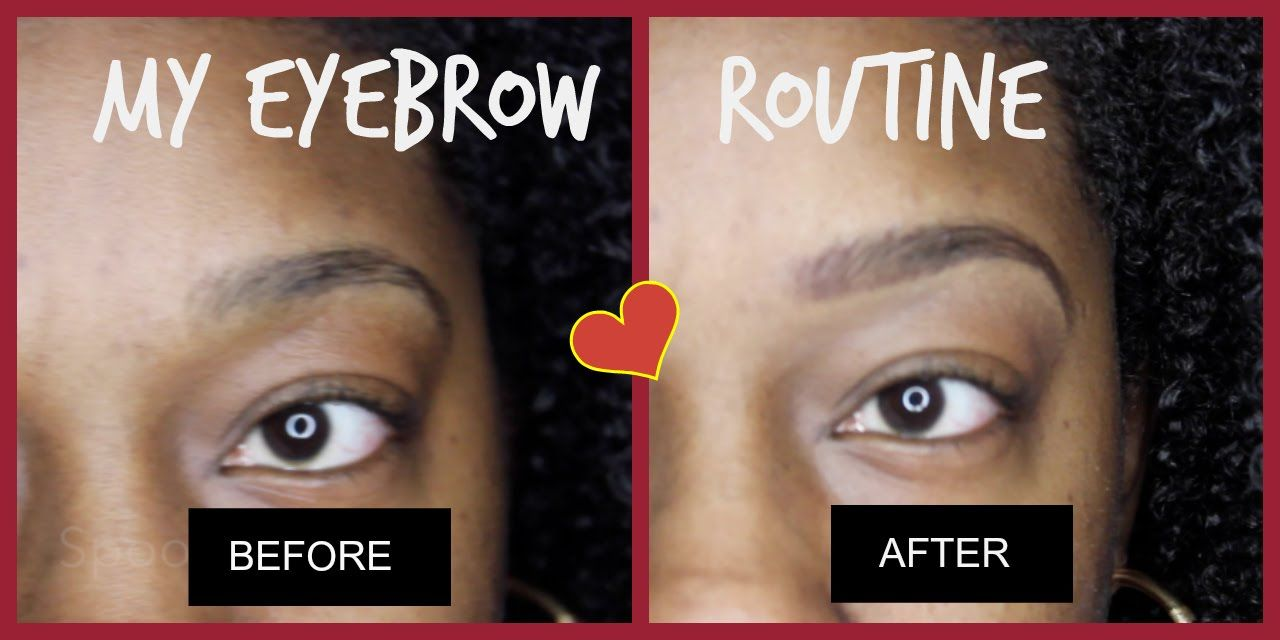 Eyebrow Routine 2015 ║ResilientnBlessed | Eyebrow routine ...