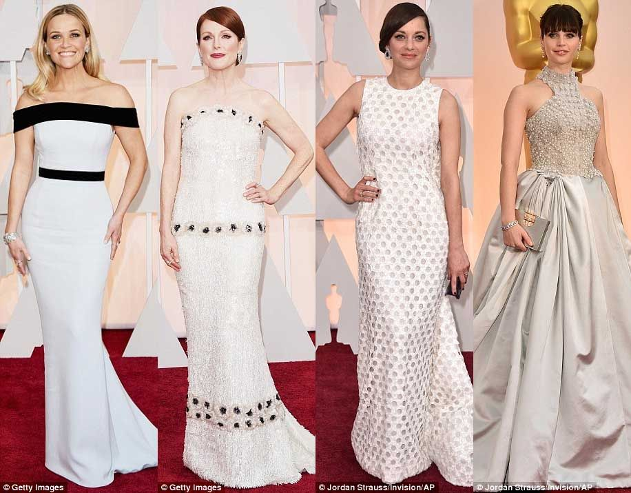 Turning Heads: Best Actress Dazzled at the #AcademyAwards in LA