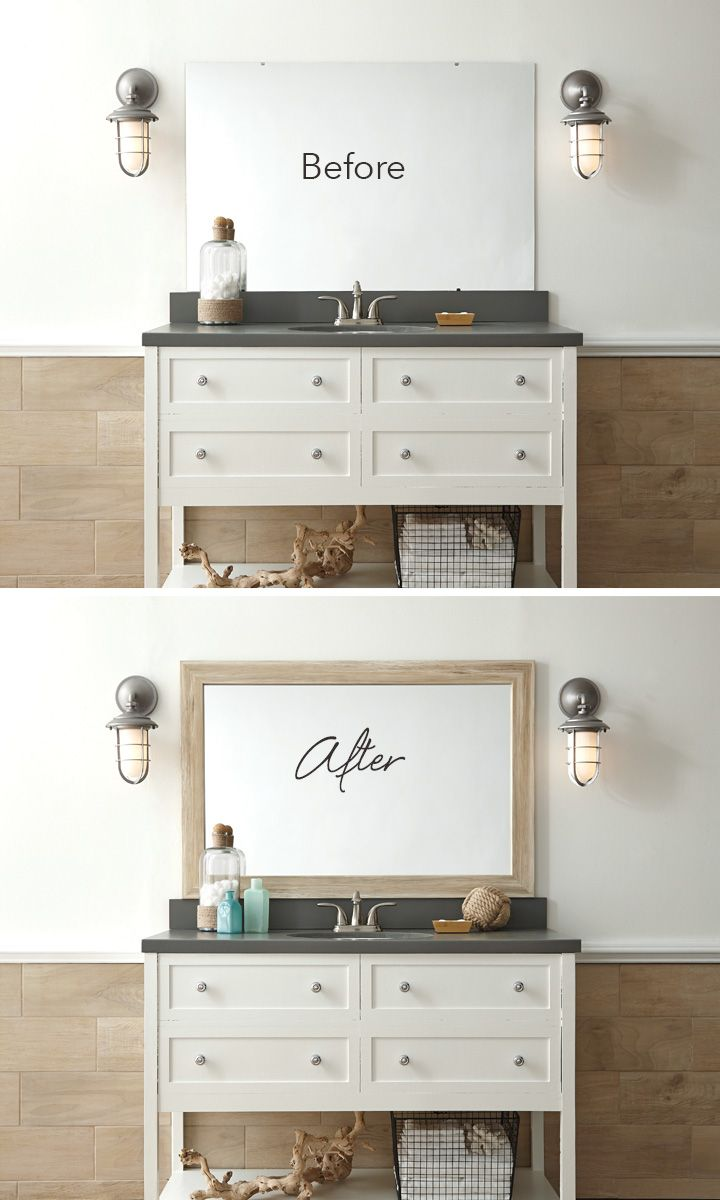 Go coastal chic: Add a MirrorMate frame in Cherokee ...
