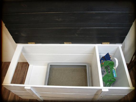 Luxury cat litter, litter box, chest \