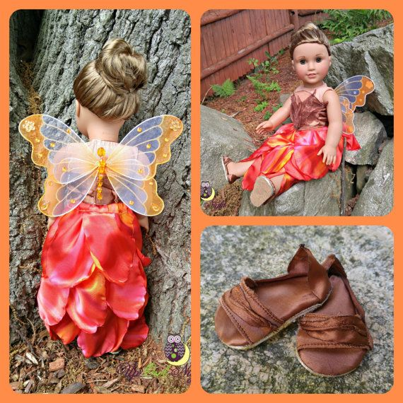 Fall Fairy or Phoenix Outfit American Made von upowlnightcrafting