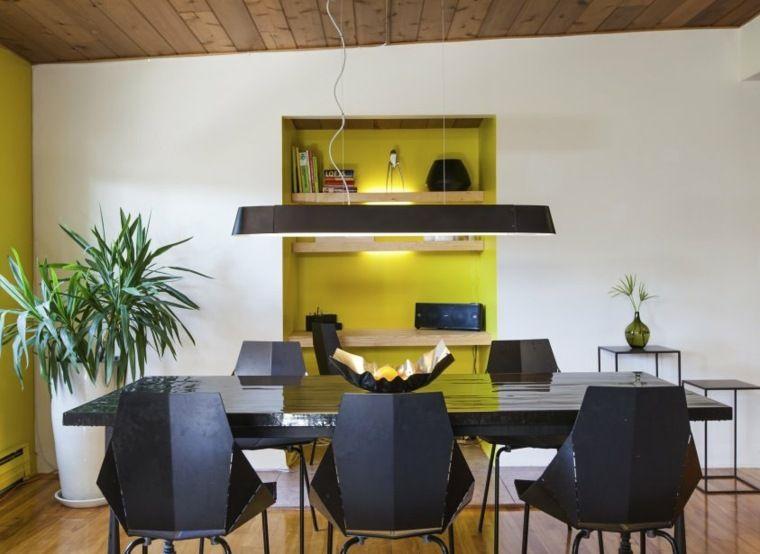 Niche murale  idées et conseils du0027aménagement et de décoration - idee de deco salle a manger