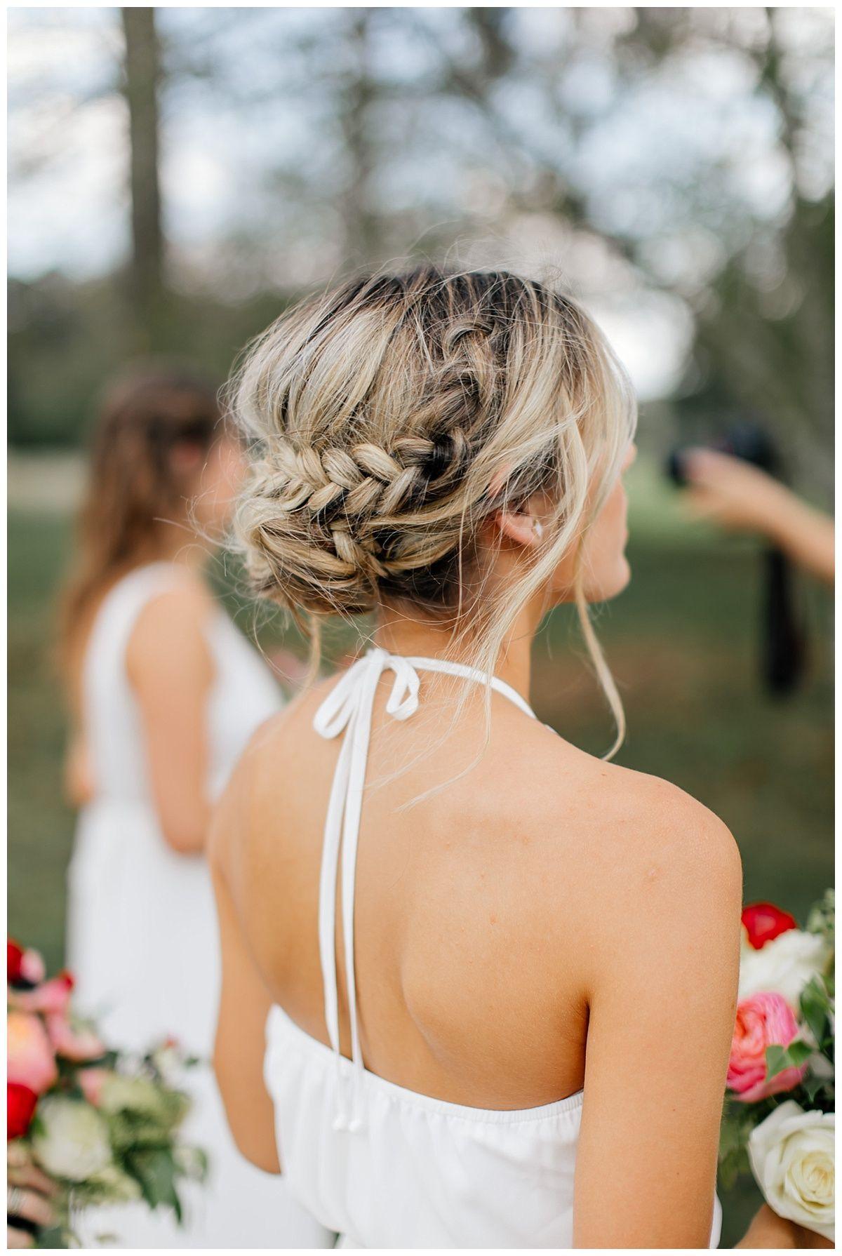 Kate Kyle Boho Bridesmaid Hair Wedding Guest Hairstyles