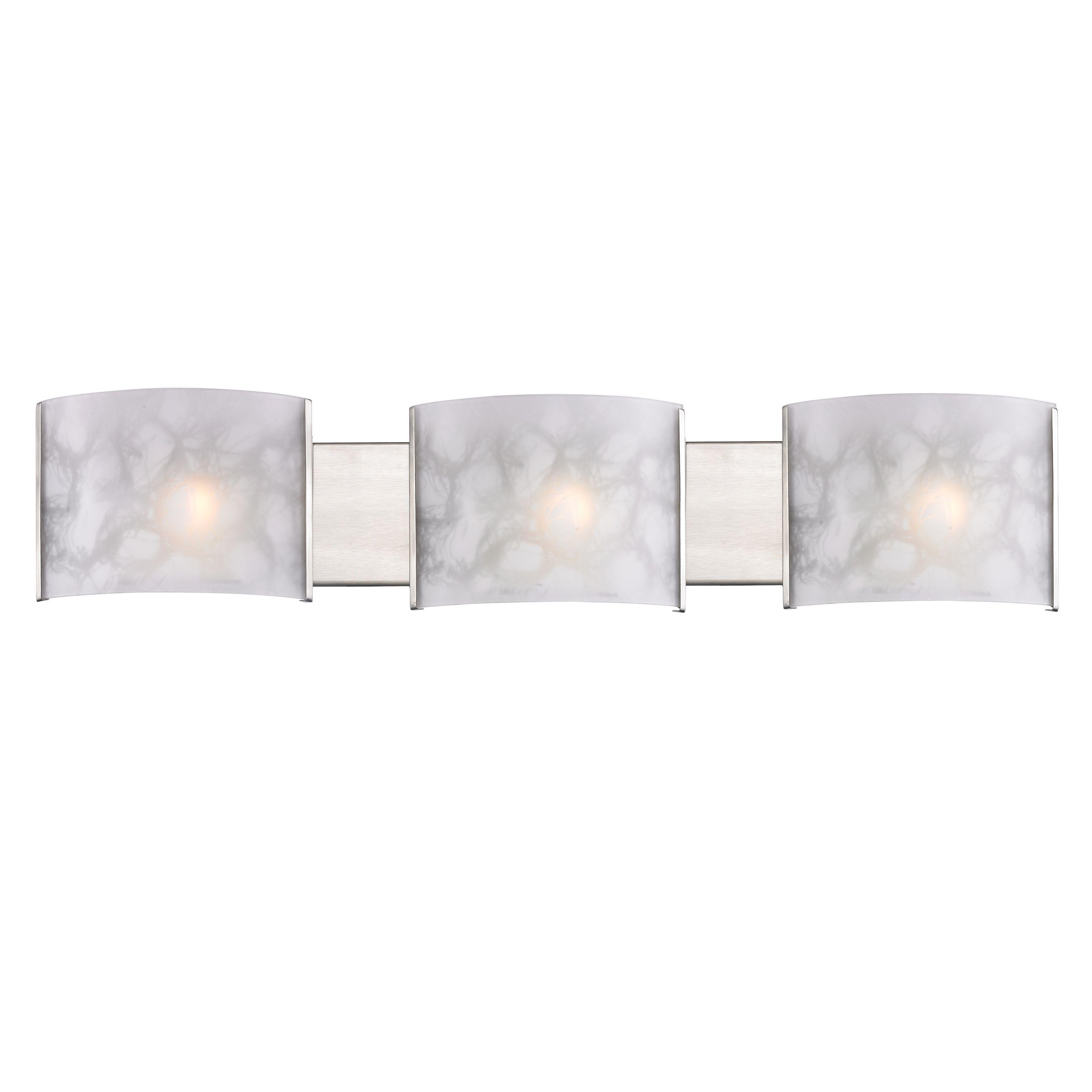 Zlite threelight semi flush indoor mount light by zlite more