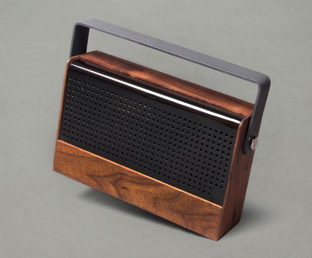 Kendall Portable Wood Speaker
