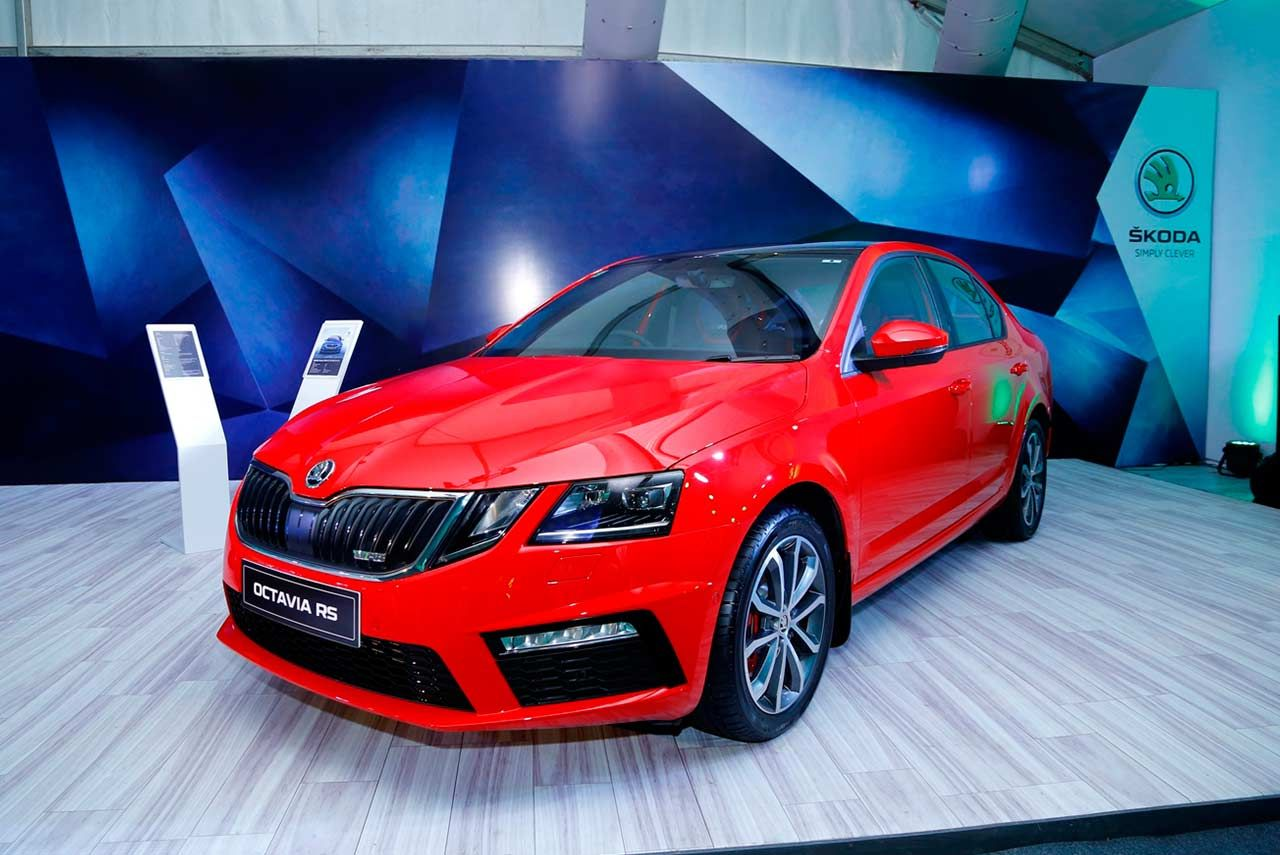 2017 Skoda Octavia Vrs Launched In India At Inr 24 62 Lakh Skoda