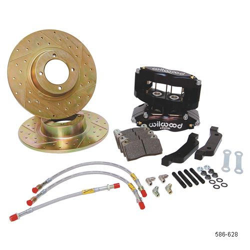 MGB Big Brake Kits with Wilwood's Four Piston Calipers