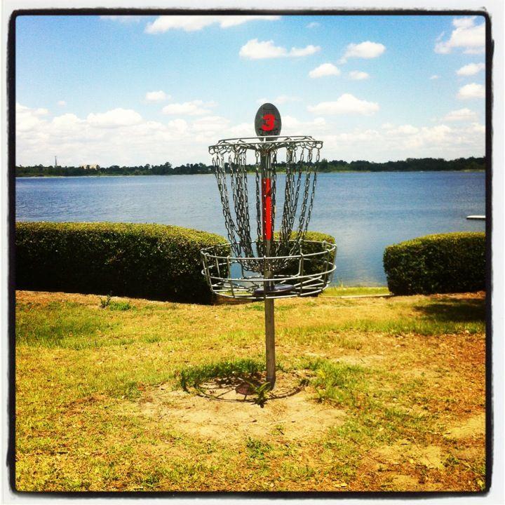 Disc golf At Turkey Lake Park in Orlando, FL Disc golf