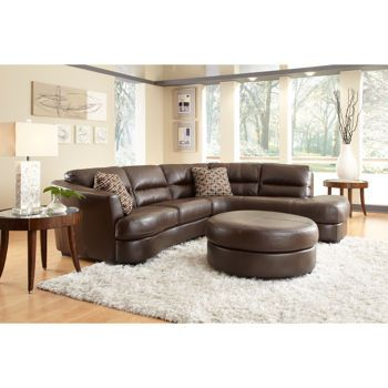 Costco Nouveau Leather Sectional And Ottoman Wish List