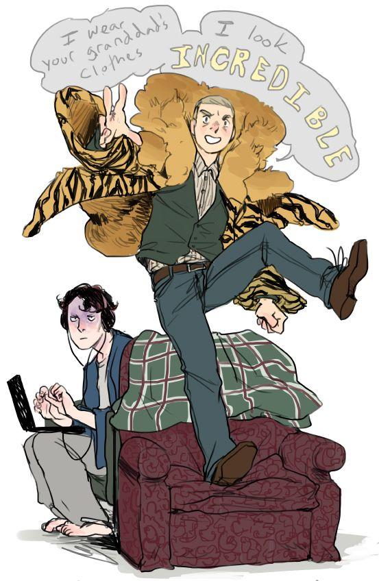 Let's Draw Sherlock!! — Hey all! For June, Let's draw Sherlock's winning...