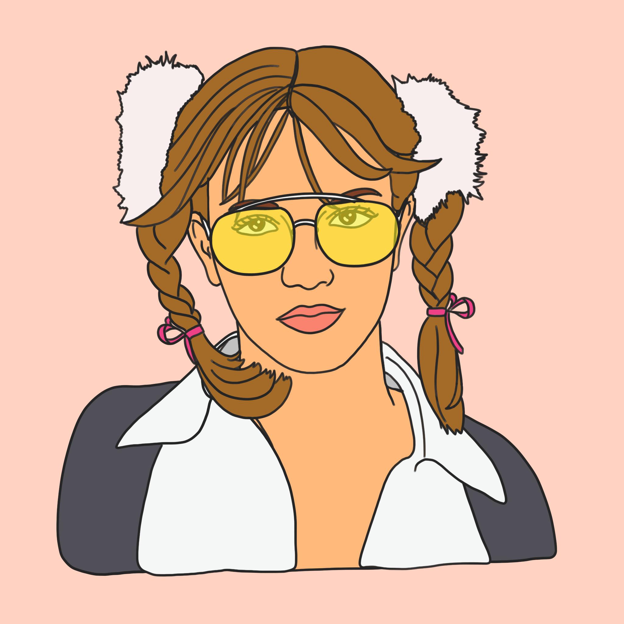 Graphic design creative series, 90s illustration - Britney Spears ...