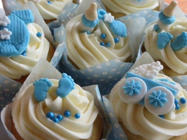 Baby Shower Cupcakes Ideas   Baby Shower Decoration Ideas