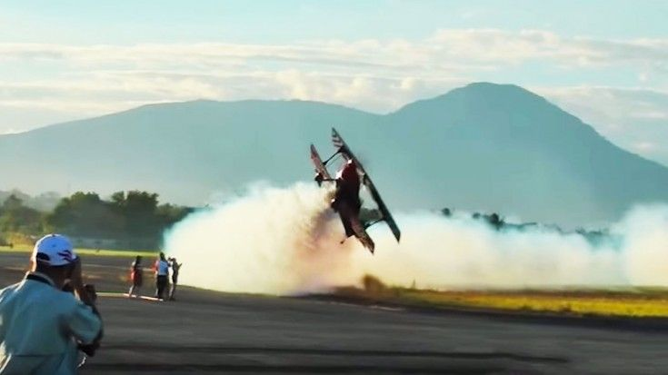 This Is The Craziest Airshow You'll Ever See