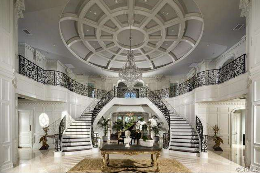 Grand Foyer Double Staircase : Pin by matt and christi johnson on misc pinterest