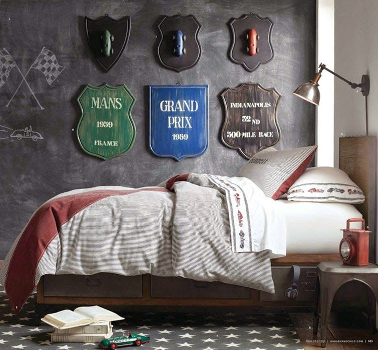 Recopilando las mejores ideas para dormitorios juveniles - Decorar paredes habitacion juvenil ...